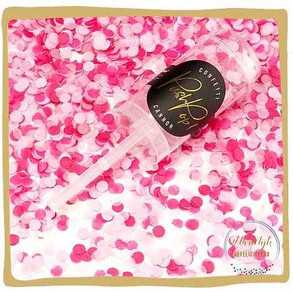 Confetti Push Pop- Roze