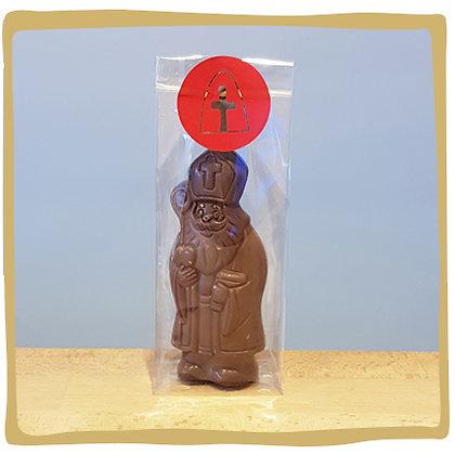 Sinterklaas- Melk chocolade - 13cm