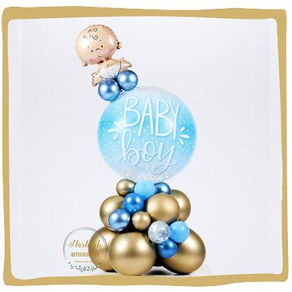 Baby Boy Bubble - Ballondeco - 1m