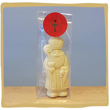 Sinterklaas - Witte chocolade - 13cm