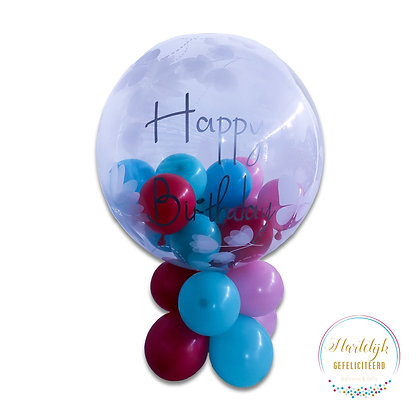 Happy Birthday stuffed ballon