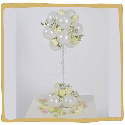 Tafeldecoratie Elegant met bloemen