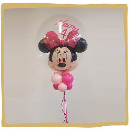 Gepersonaliseerde bubble minnie