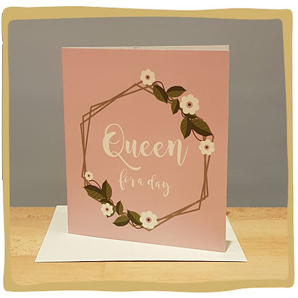 Geldkaart - Queen for a day
