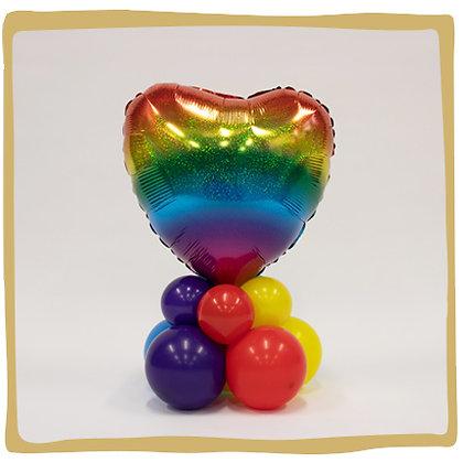 Rainbow Heart - Ballongeschenk*