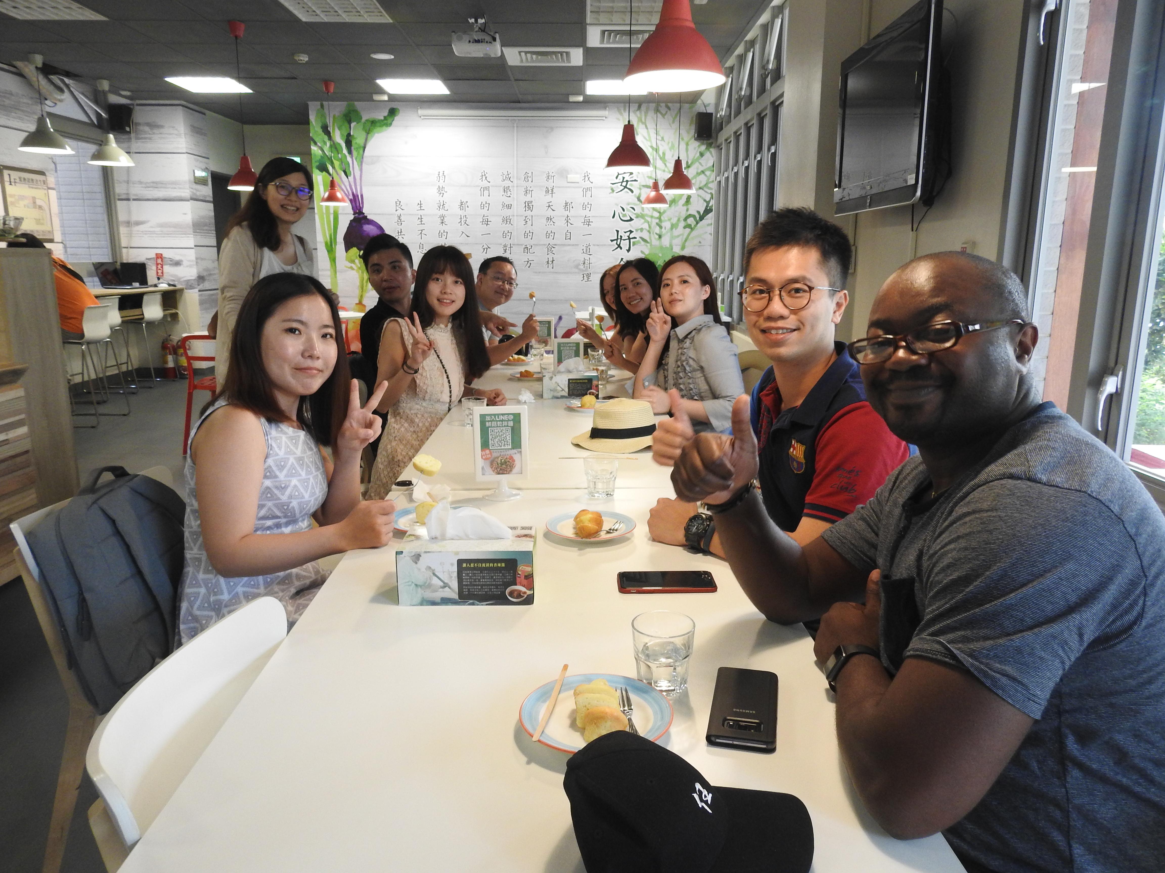 香港大學師生來訪