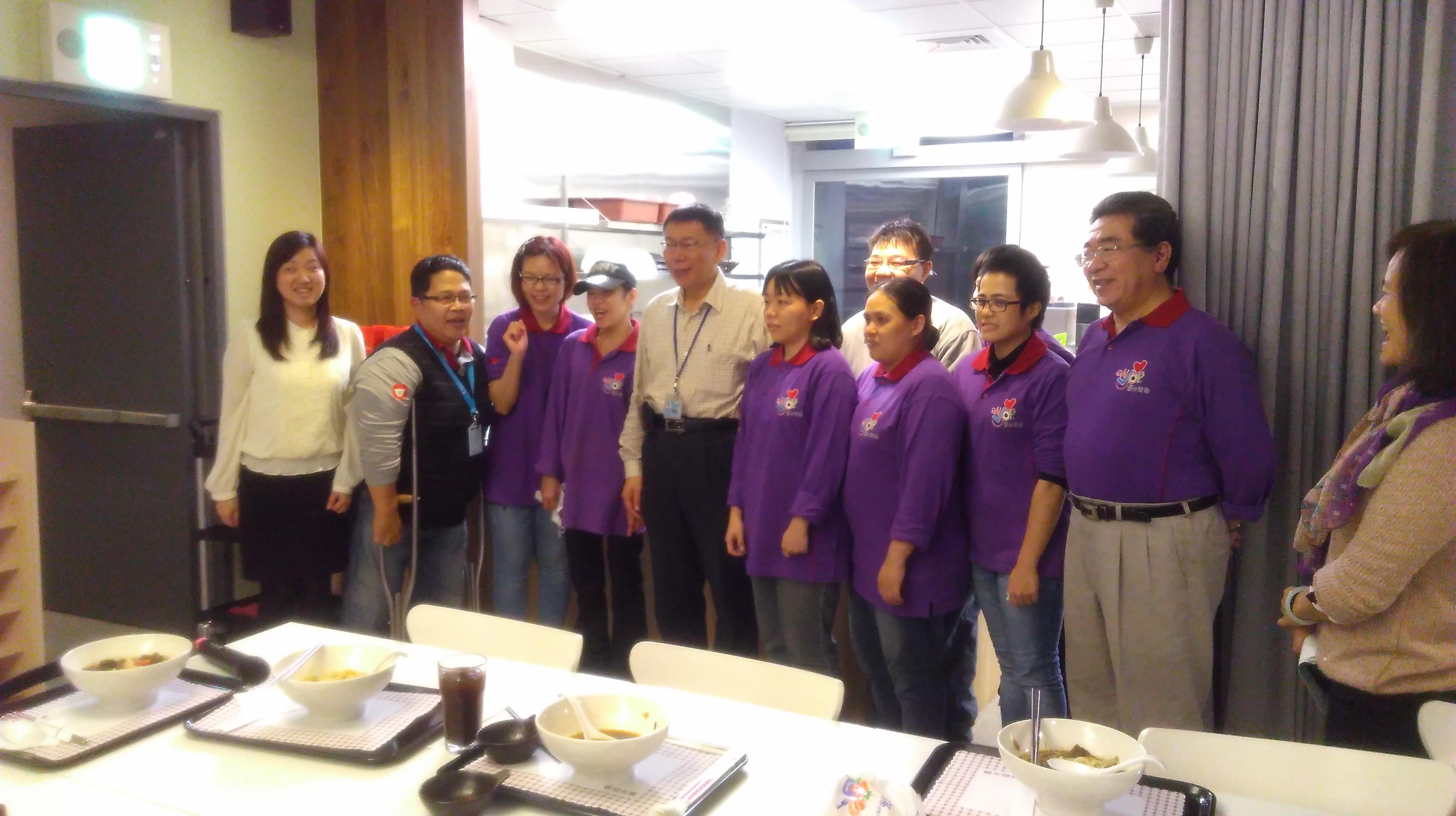 台北市長 - 柯文哲市長來訪
