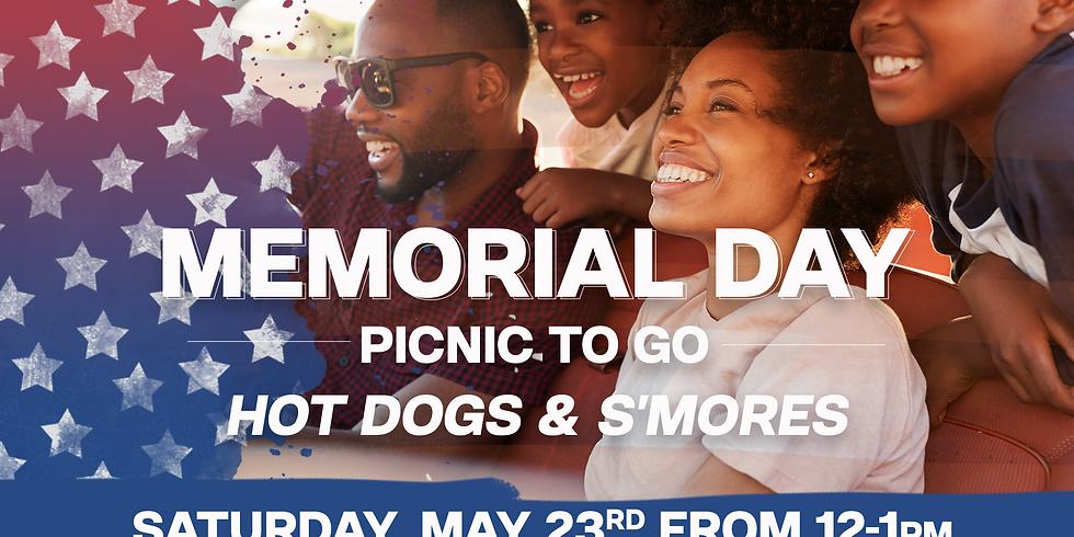 Memorial Day Picnic To Go