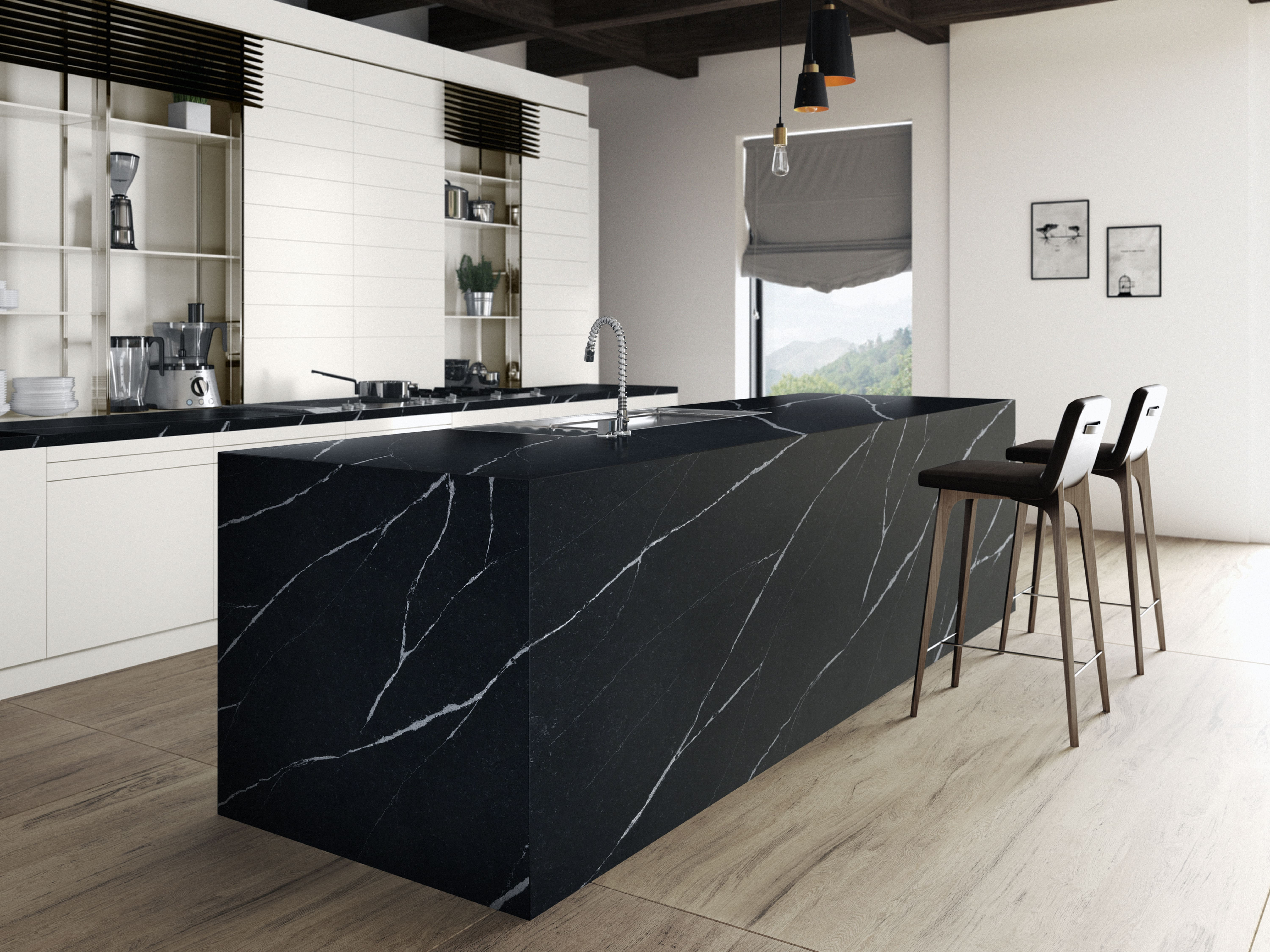 Eternal Marquina - Kitchen