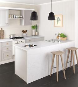 Eternal Statuario - kitchen