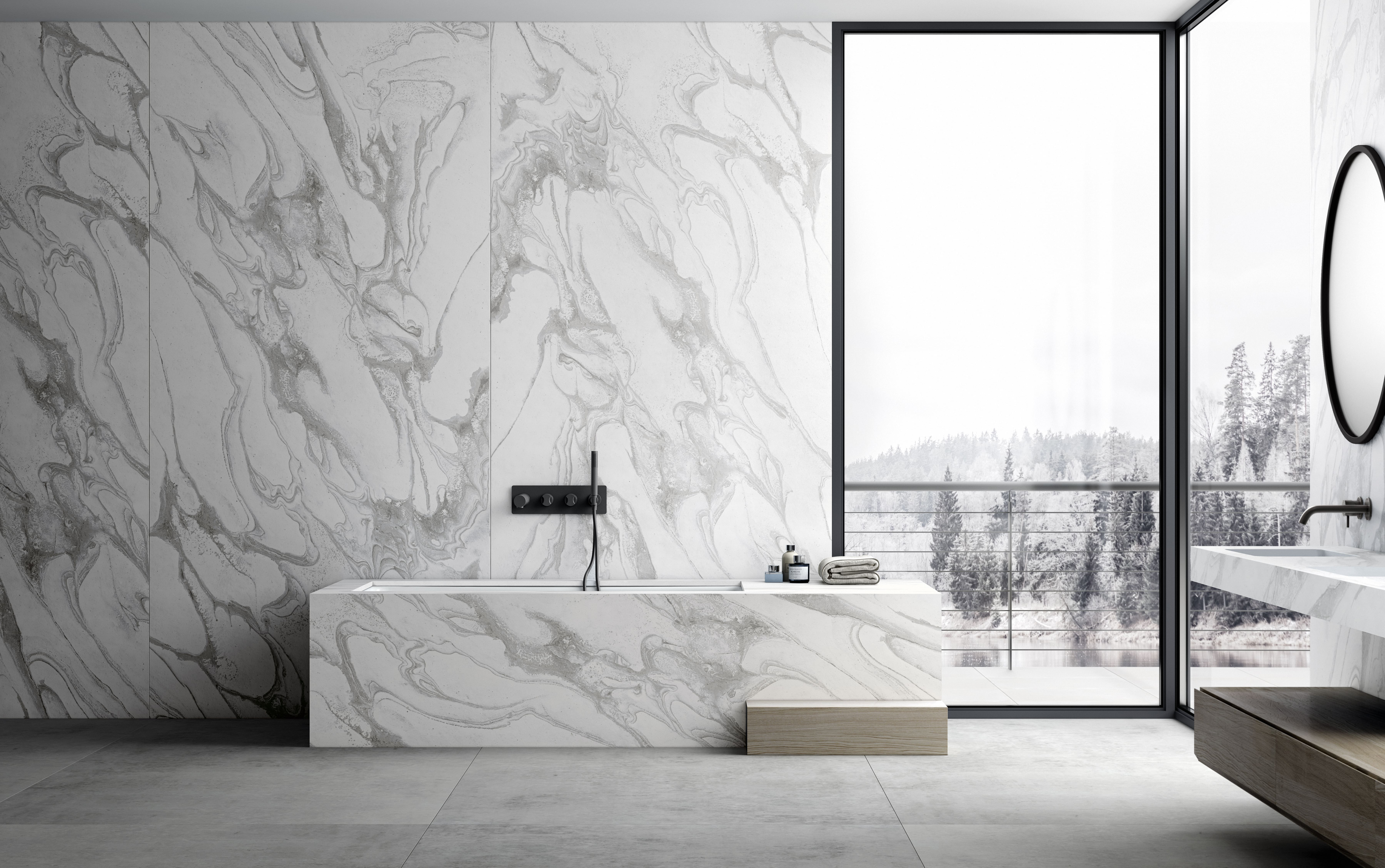 Dekton Bathroom - Sky