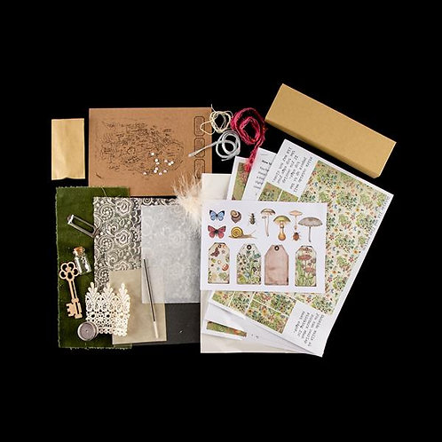 Pocket Treasure box kit (Pale)