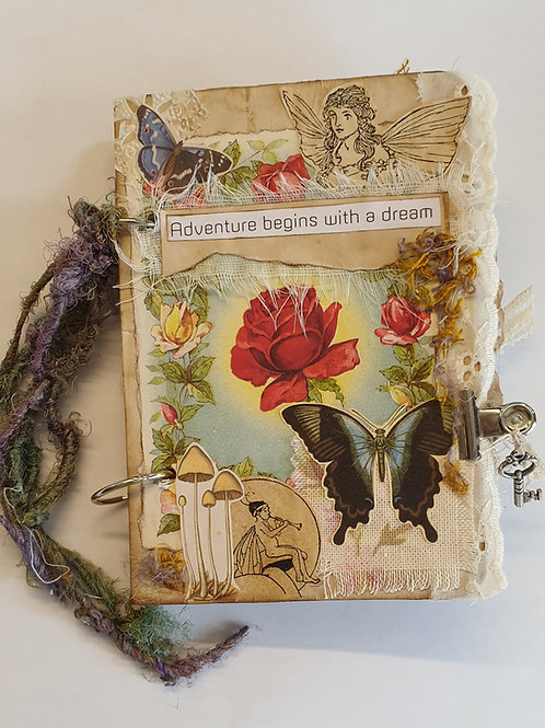 Fairytale Garden Journal making kit