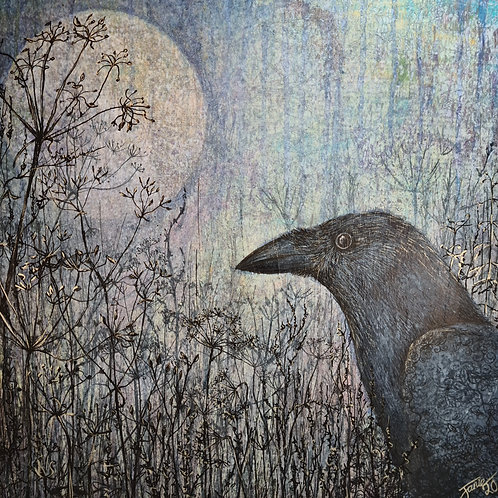 'Magic' original mixed media painting