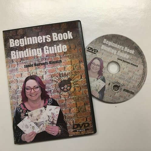 Janie's Beginners Book binding DVD
