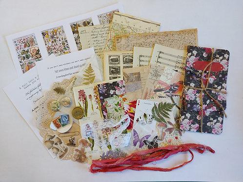 Handmade Journal treasure bundle