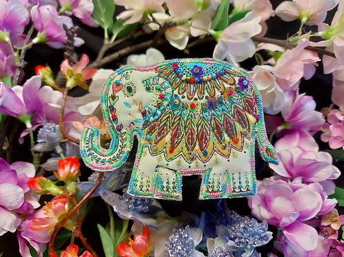 Lucky Elephant Brooch