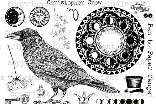 Christopher Crow A5 stamp set