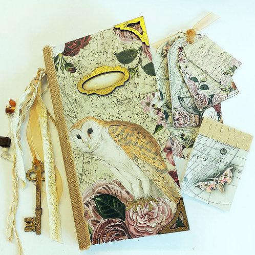 The Midnight Traveller Notebook making kit