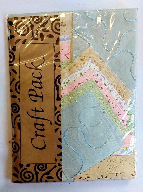 Handmade paper pack