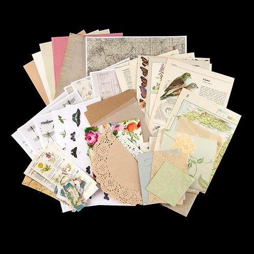 Treasure Pack - Garden Traveller Mixed Paper & Print Pack