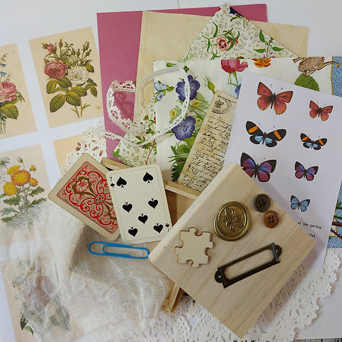 Vintage style Botanical Box kit