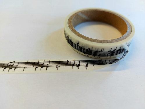Crafts Too Vintage Selection - Washi Masking Tape Music