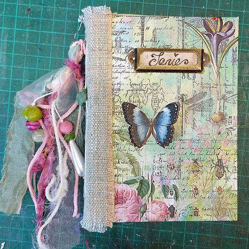 Garden Discoveries A6 Book Kit, Green or Blue