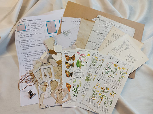 The Explorers Folio kit. Wildflowers