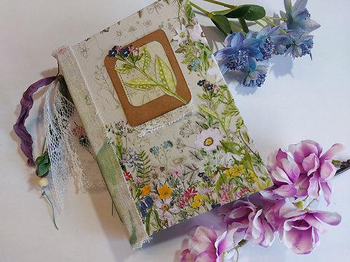 Book Making Kit - Garden Traveller Floral