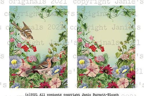 Birdsong and Blooms Digital download with print option