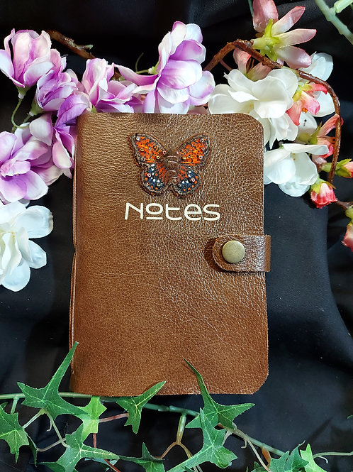 Beautiful hand crafted real leather book.