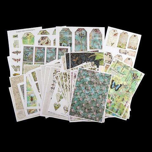 Lucky Dip Print Pack - Garden Travels Mix