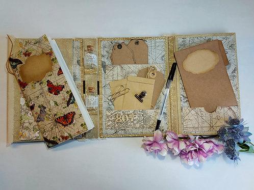 Lapbook Making Kit - The Garden Traveller