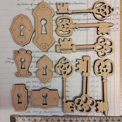 MDF Lock and Key pack