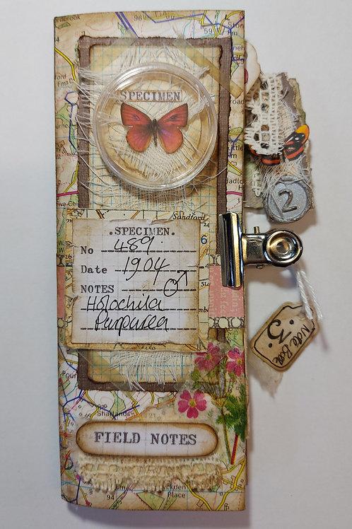 Butterfly Field notes Journal kit