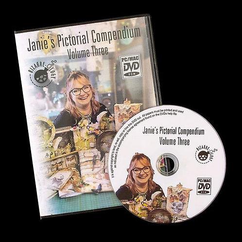 Janie's Pictorial compendium vol 3. DVD Rom