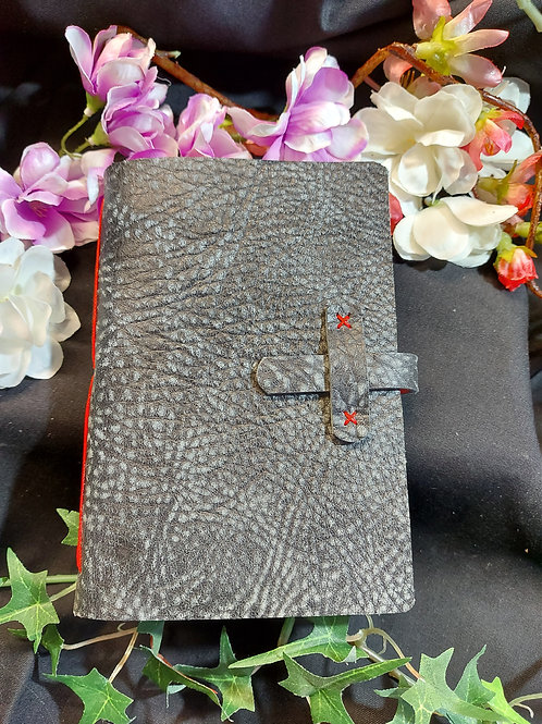 Real leather sketch book