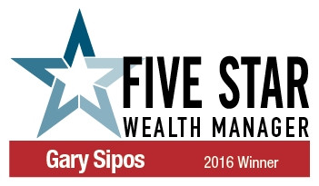 Gary Sipos awarded peer-nominated Five Star Award