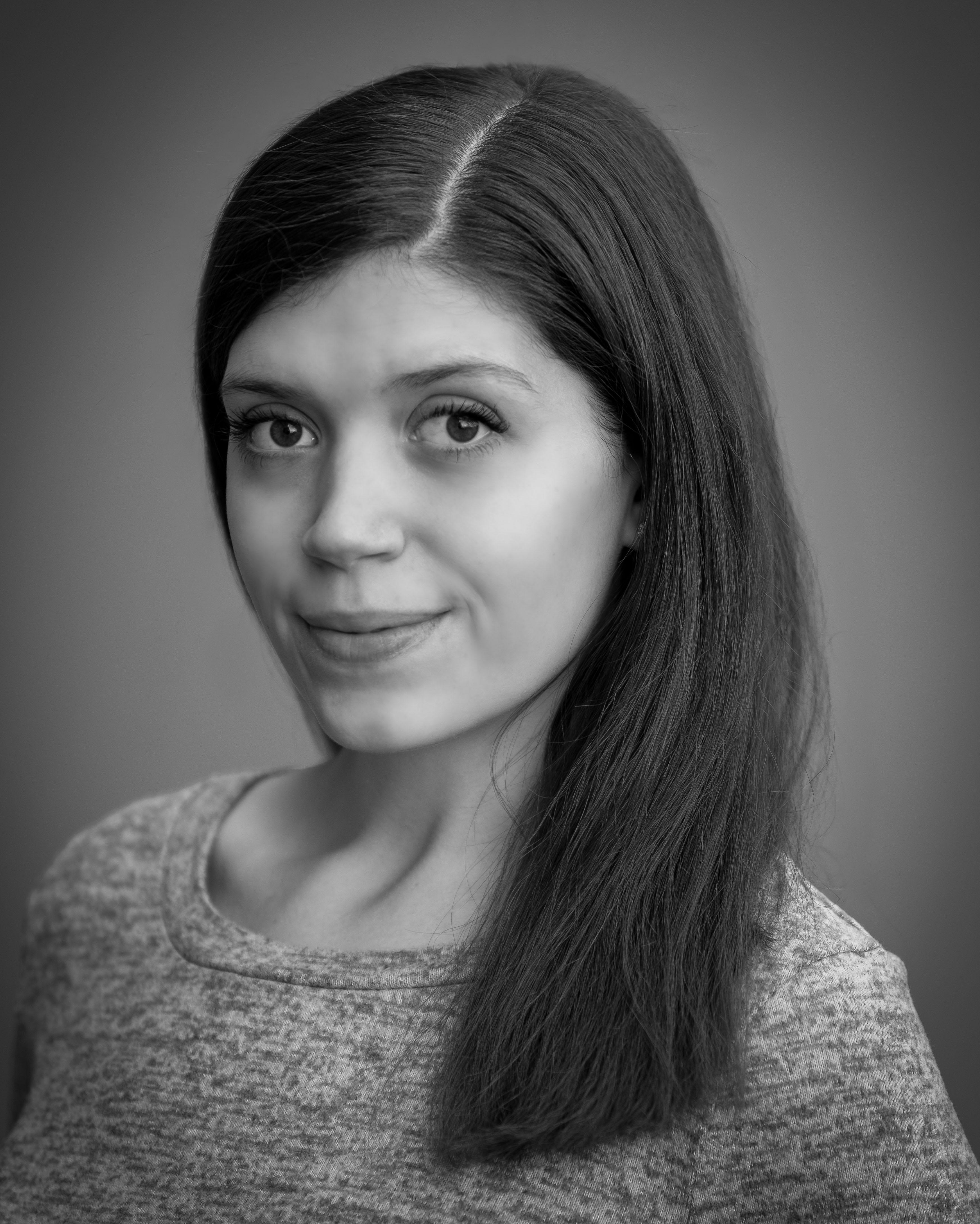 Nora Fancsalszky headshotBW(1)