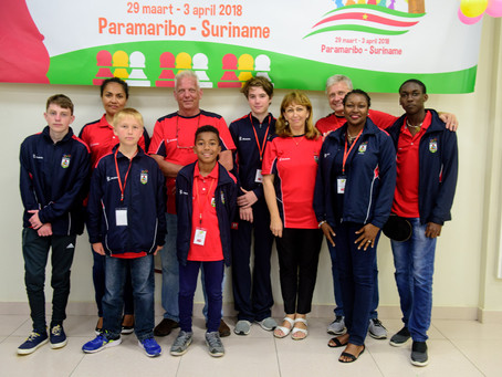 Youth Chess Team Competes At CARIFTA