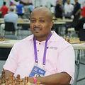 Don Dacres ar the 42nd Chess Olympiad , Baku