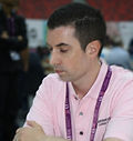 Mark Flanagan at the 42nd Chess Olympiad , Baku