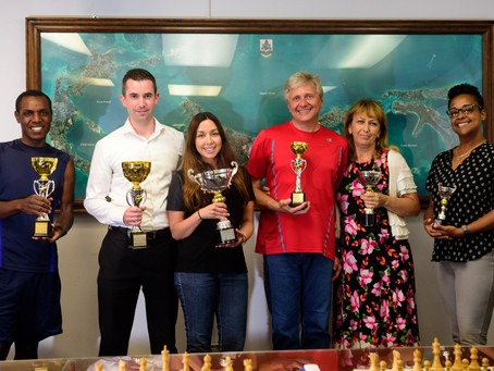 Husband and wife clinch top titles in the Bermuda Chess Championship 2018