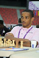 Adrian Woodley at the 42nd Chess Olympiad , Baku