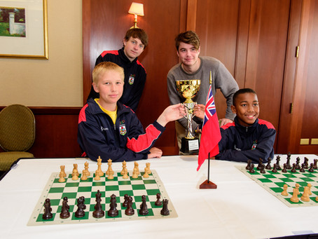 Saltus Chess Team Win Bermuda Schools Chess Championship 2019