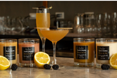 """MelaninADE Tini Candle Collection """"Same Scent - Different TONE"""""""