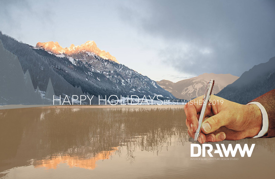 HAPPY HOLIDAYS best wishes 2019  www.DRAWW.be team