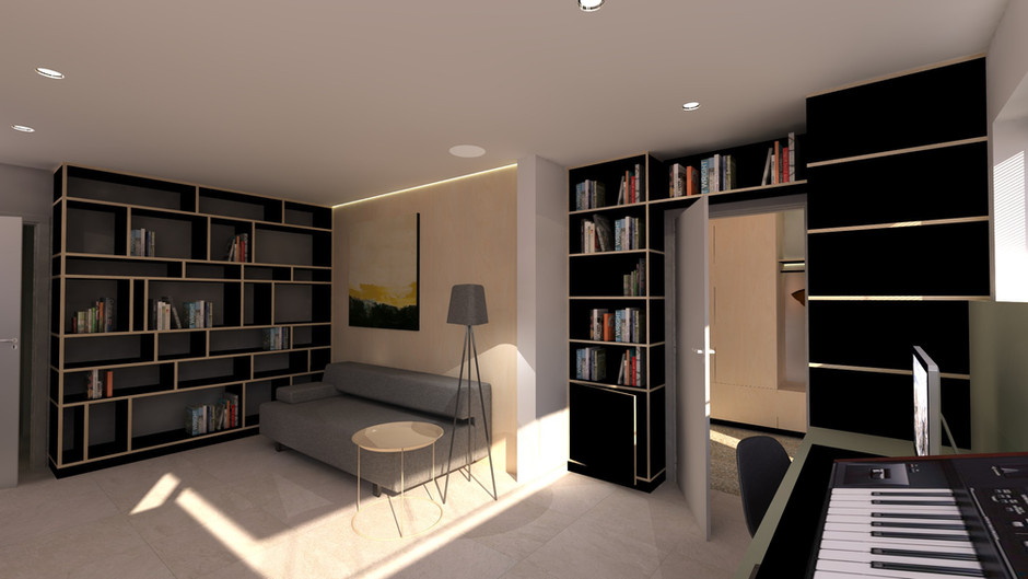 H - N&S - annex / muziekkamer