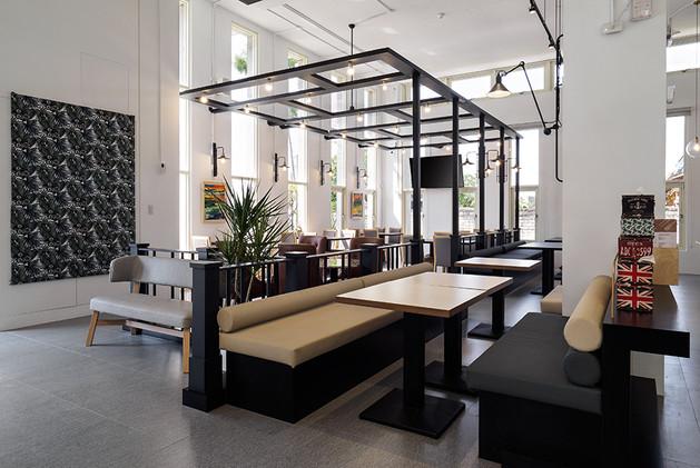 天亮了-咖啡餐飲館-舞夏設計-台中北屯區茶飲店-商業空間-品牌整合設計 (7).